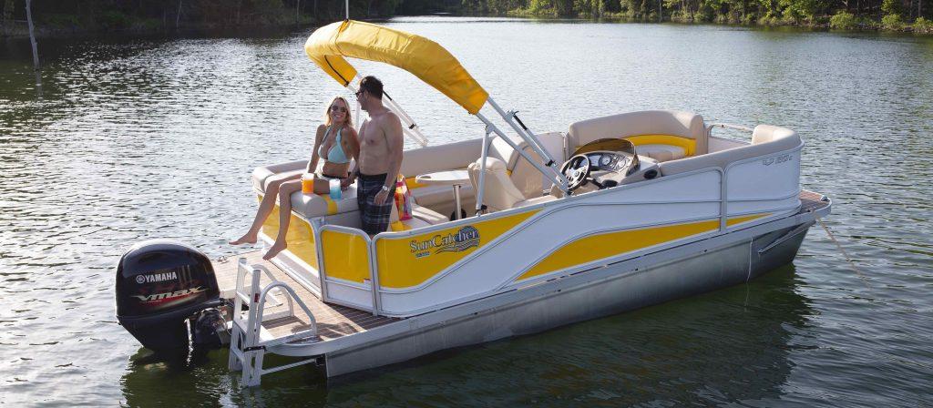 V Series Pontoon Boats