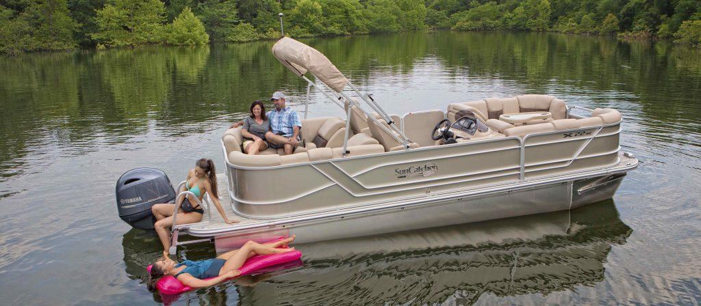 X Series Pontoon Boats
