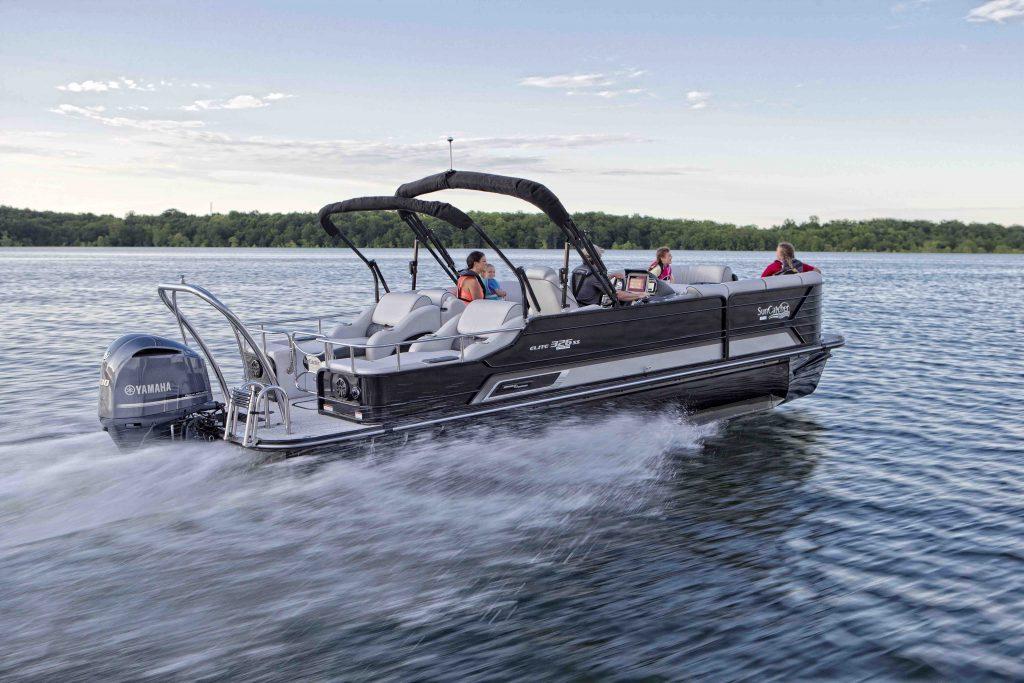 Diamond Elite Series Pontoon Boats